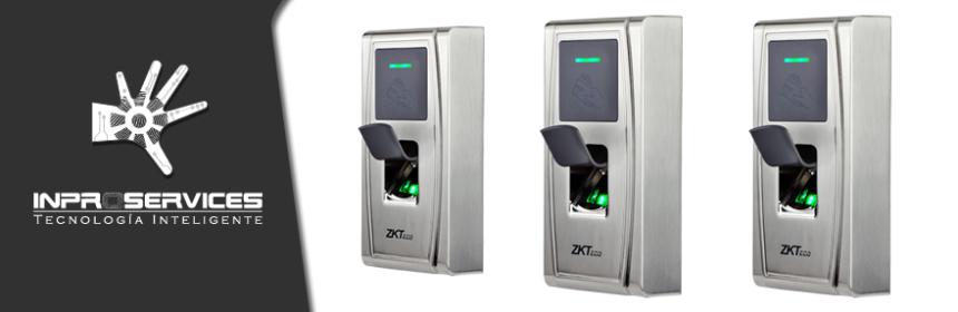 Control de acceso biometrico ip para exteriores