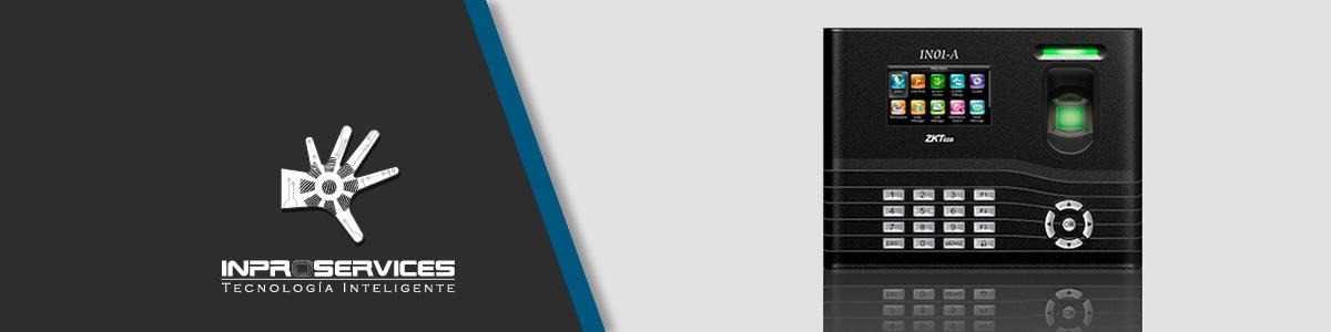 Reloj biométrico IN01-A